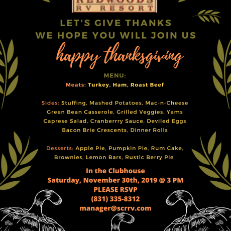 LET'S GIVE THANKS! JOIN US!